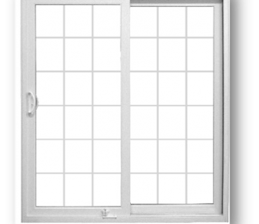 2 panel small panes