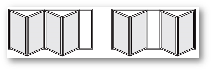 Excellent 4 Panel Folding Doors Pictures - Exterior ideas 3D - gaml ...