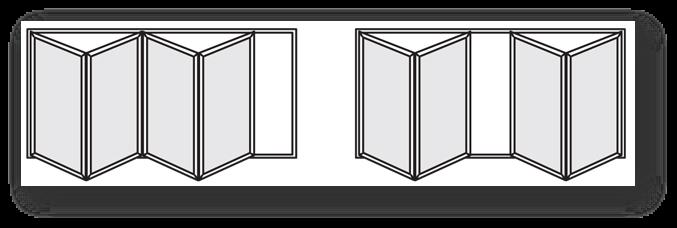 4 panel bifold doors