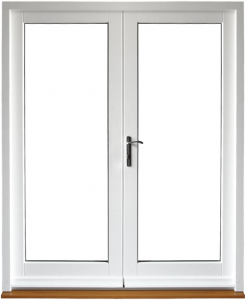 French doors plain