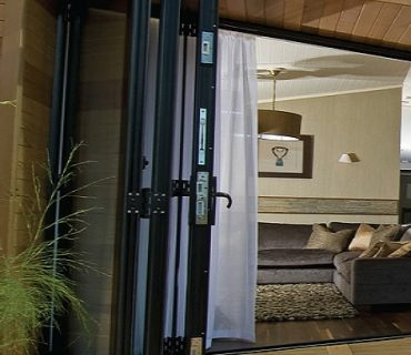 what are folding doors