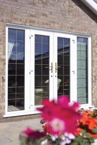 French Door With Side Panels
