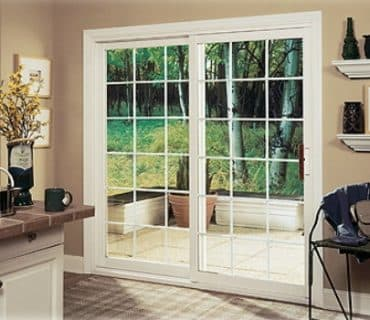 best patio door in white